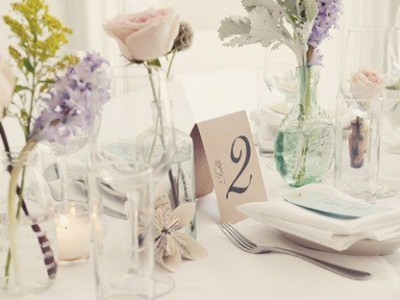 43 Creative DIY Wedding Table Number Ideas