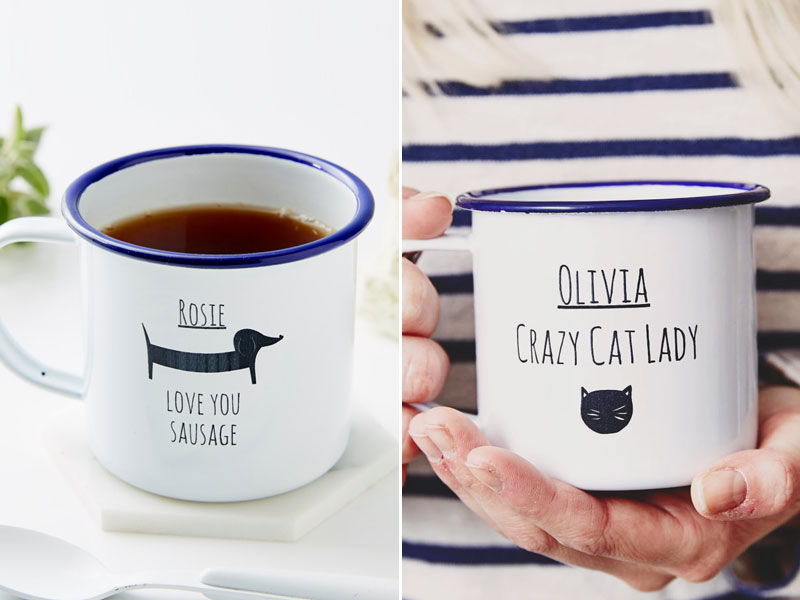 07-Personalised-Enamel-Mug-(Sausage-Dog)---cat-lady