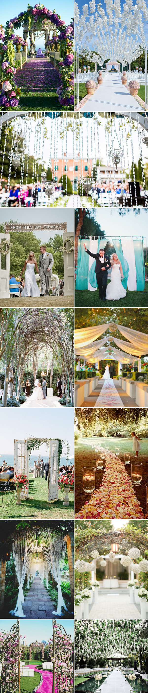Making A Beautiful Entrance 26 Creative Wedding Entrance Decor Ideas Praise Wedding