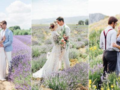 27 Utterly Romantic Field Engagement Photos