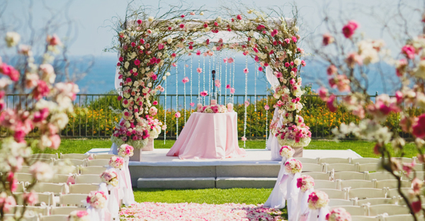 50 beautiful wedding arch decoration ideas praise wedding junglespirit Images