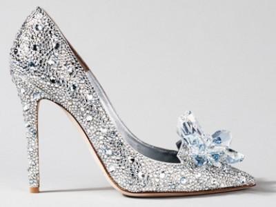 15 Stunning Cinderella-Inspired Wedding Shoes!