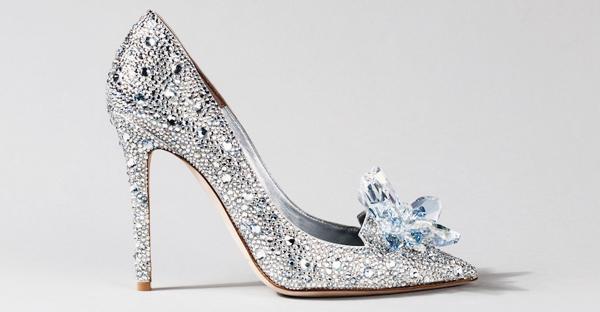 15 Stunning Cinderella Inspired Wedding Shoes!   Praise Wedding