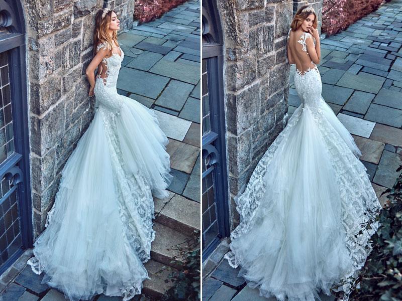 40 Swoon-worthy Mermaid Wedding Dresses - Praise Wedding