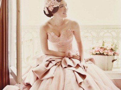 20 Utterly Romantic Blush Wedding Dresses