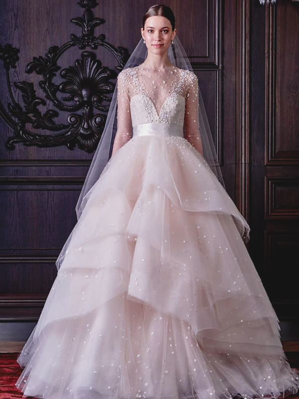 15 most beautiful wedding dresses from the spring 2016