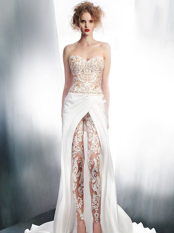 25 Unconventional Bridal Pants Suits For The Modern Bride