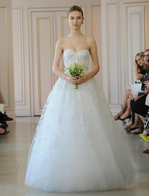 15 Most Beautiful Wedding Dresses from the Spring 2016 Bridal ...