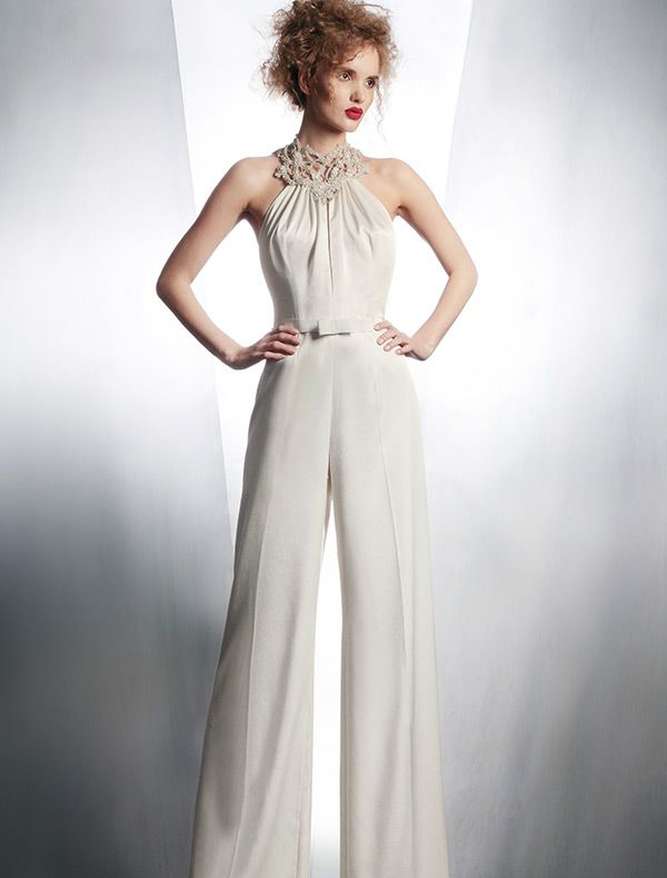25 Unconventional Bridal Pants & Suits for the Modern Bride ...