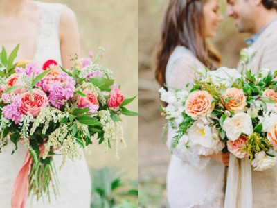 "The ""Wilder"" Approach – 17 Loose and Airy Bridal Bouquets!"