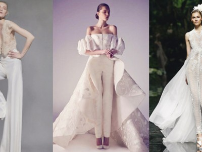 25 Unconventional Bridal Pants & Suits for the Modern Bride!