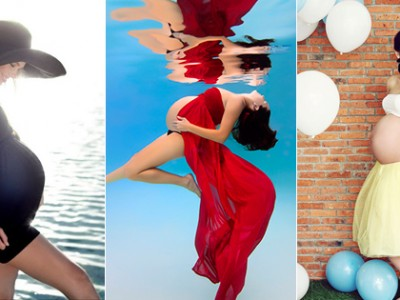 28 Modern & Captivating Themed Maternity Photo Ideas!