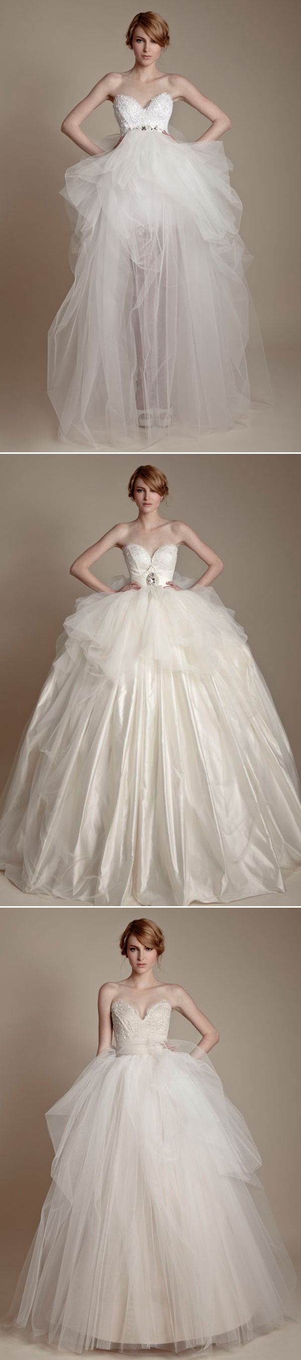 35 sweet baby doll inspired wedding dresses you 39 ll love for Baby doll style wedding dress