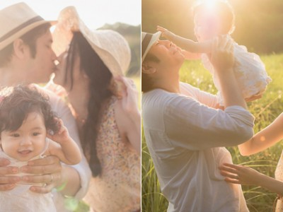 You Are Our Sweetest Adventure – Beautiful Family Baby Session from Roger Wu