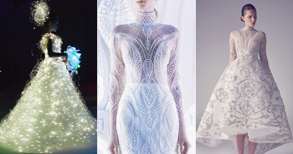 40 Stunning Cutting Edge Futuristic Wedding Gowns Praise
