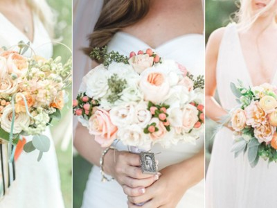 20 Oh So Lovely Peach Bouquets!
