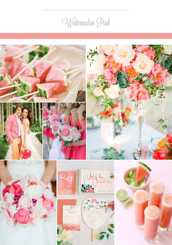 The Prettiest Wedding Colors For Summer 2015 Praise Wedding