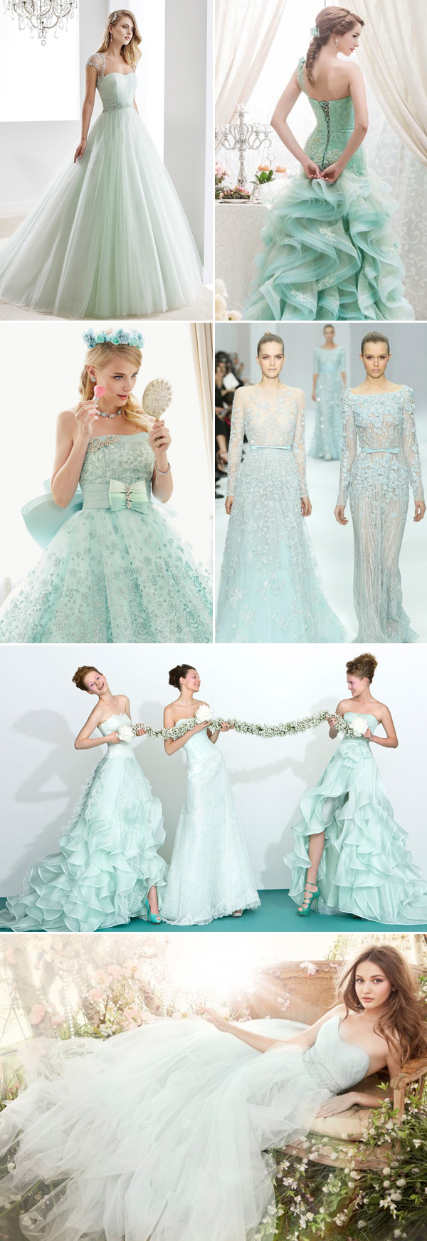 30 Oh-So-Romantic Pastel Wedding Dresses! - Praise Wedding