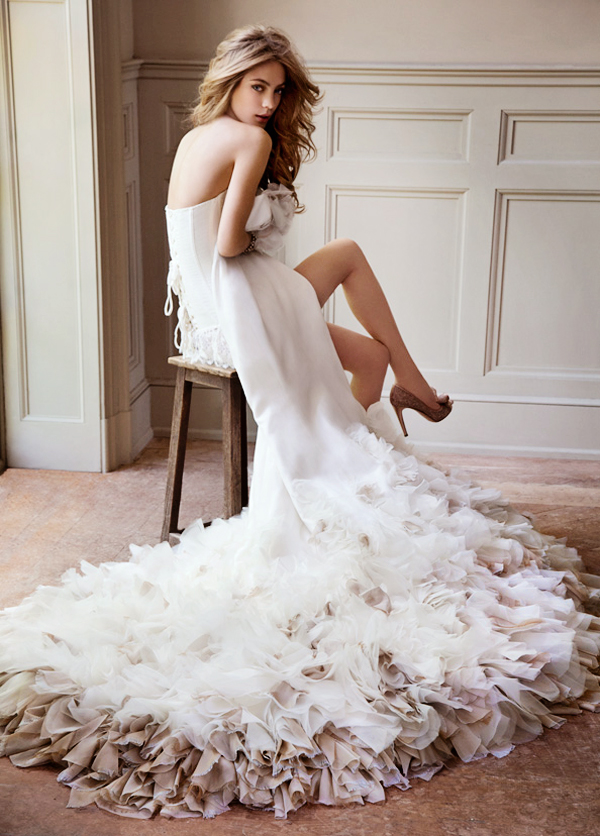Wedding dress designer hayley paige wedding dress for Wedding dress cleaning baton rouge