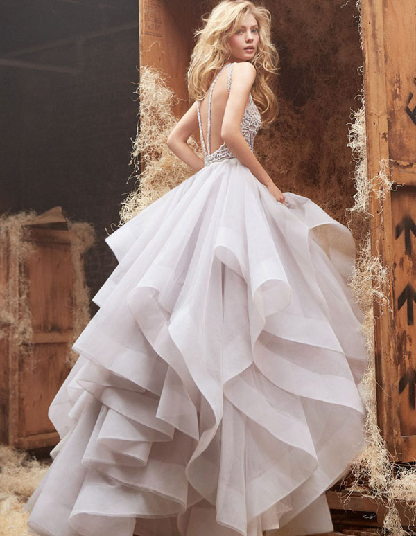Interesting Be A Modernday Princess Fairytale Wedding Dresses Praise With White And Lavender Dress