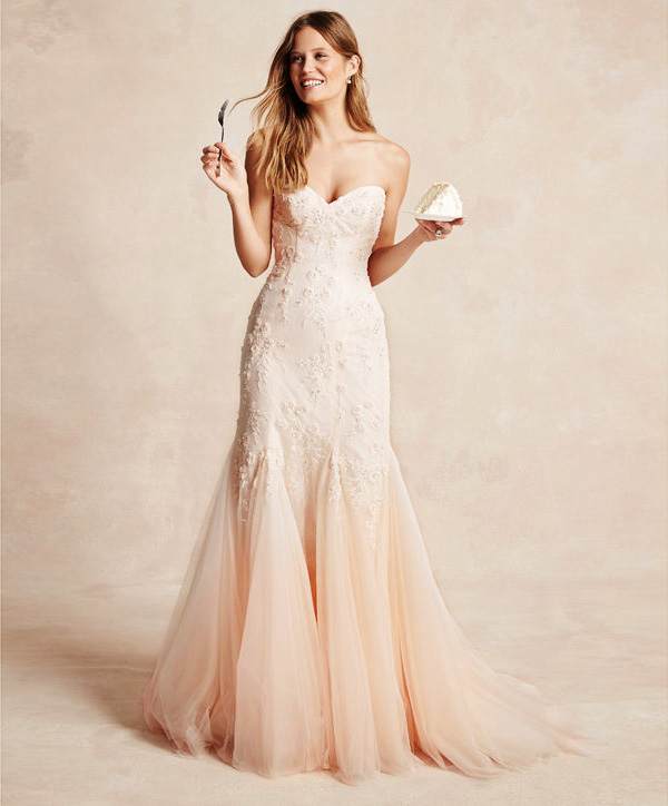 Unique Wedding Dresses With Color: Color On White? 20 Beautiful White Wedding Dresses With A
