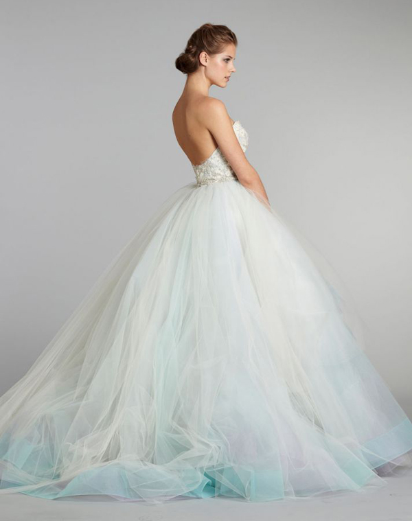 30 Head-Over-Heels Romantic Watercolor Wedding Gowns! - Praise Wedding