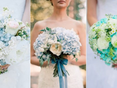 Something Blue! 25 Oh-So-Romantic Bouquets in Blue!