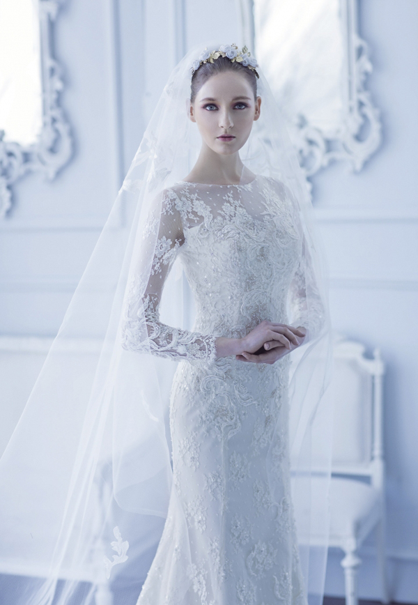 Stunning Winter Wedding Dresses : Stunning wedding dresses for winter wonderland praise