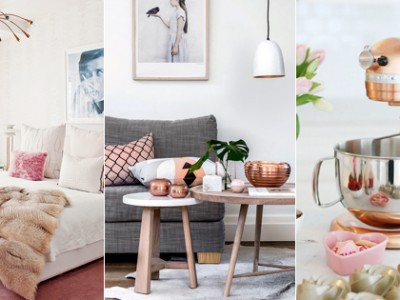 Can't Get Enough of Rose Gold!  30 Trendy Rose Gold Home Décor Ideas!