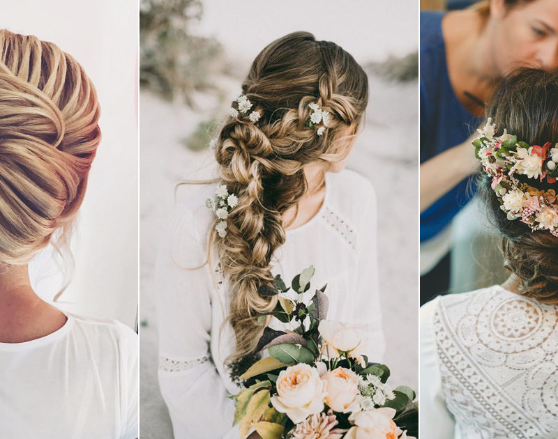 24 Beautiful Trending Wedding Hairstyles For Fall 2017!