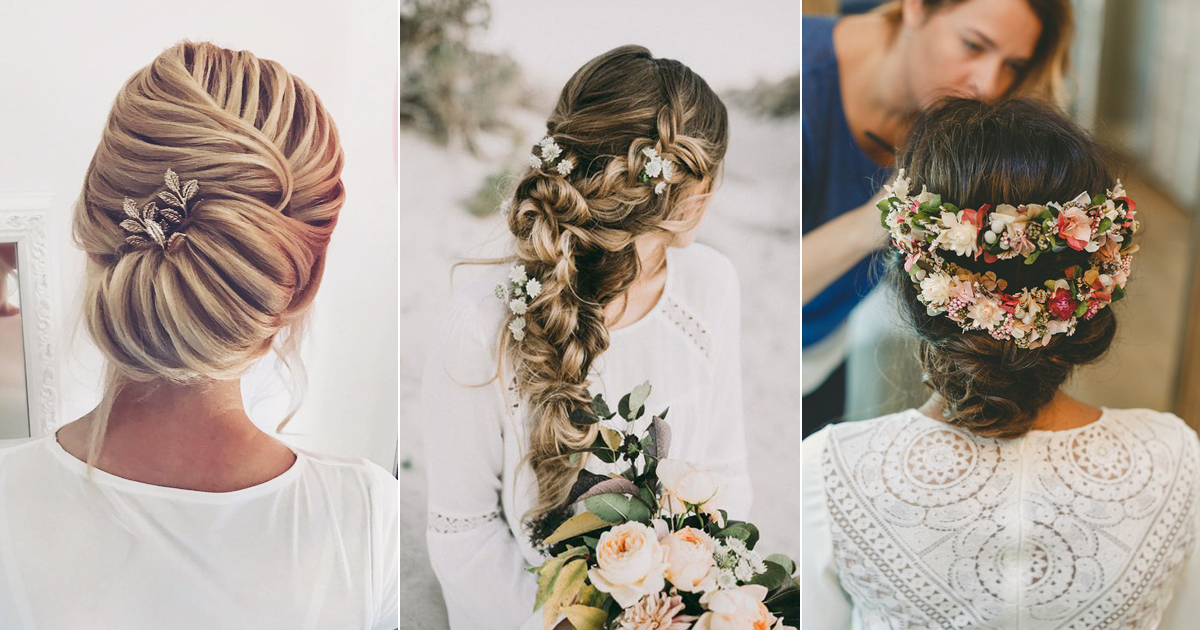 24 Beautiful Trending Wedding Hairstyles For Fall 2017