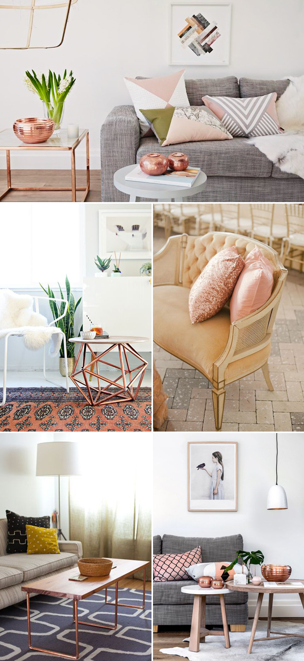 Can'T Get Enough Of Rose Gold! 30 Trendy Rose Gold Home Décor