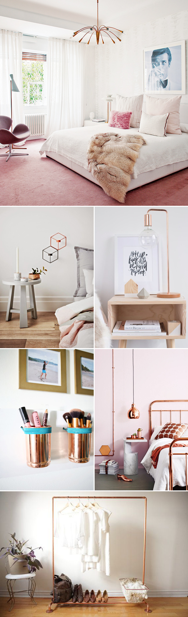 Can\'t Get Enough of Rose Gold! 30 Trendy Rose Gold Home Décor Ideas ...