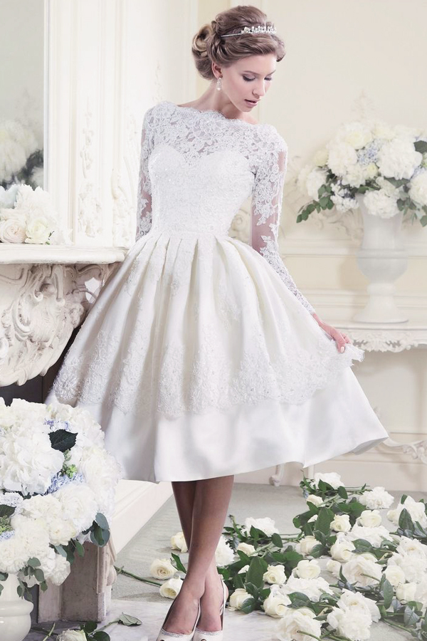 Classy And Sassy 25 Utterly Gorgeous Short Wedding Dresses