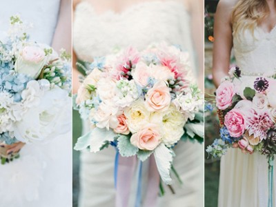 """18 Beautiful Bouquets With Just A Touch of """"Something Blue""""!"""