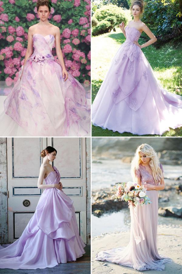 Non traditional colored wedding dresses wedding ideas non traditional yet elegant 20 light colored wedding dresses you junglespirit Choice Image