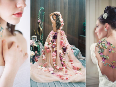 Real Flower Jewelry and Dresses! 37 Beautiful Wearable Fresh Flower Ideas!