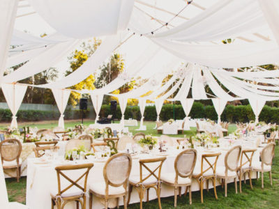 Rain or Shine, the Wedding is On! 21 Beautiful Ways to Decorate Your Wedding Tent!