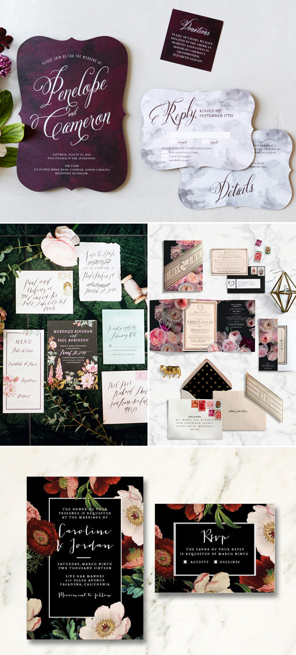 7 Top Wedding Invitation Inspirations For 2016! - Dave Shannon Music