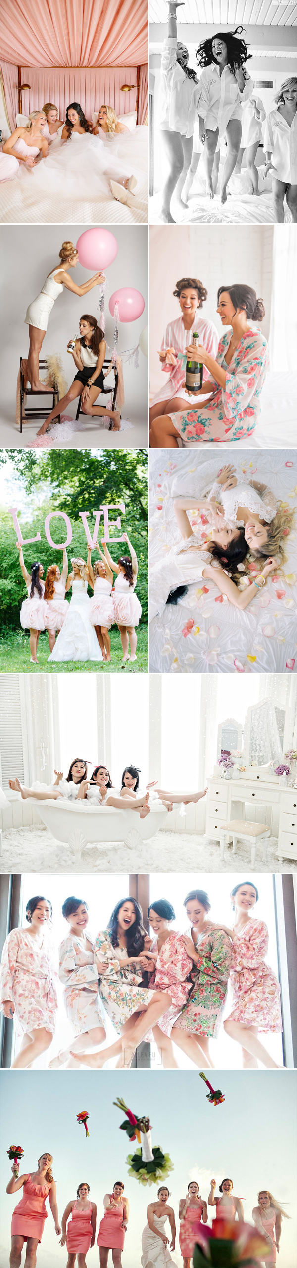 25 Fun Wedding Photo Ideas And Poses For Your Bridesmaids Praise Wedding