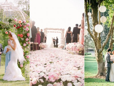 30 Creative Ideas to Decorate Your Outdoor Wedding Ceremony!