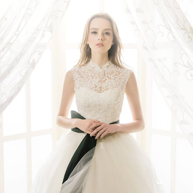The Modesty Trend! 27 Timeless Wedding Dresses with Graceful High ...