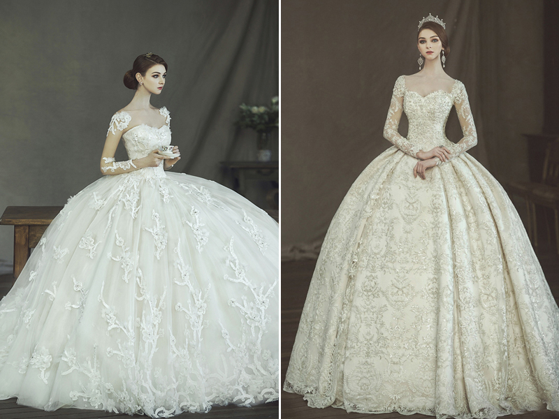 29 Jaw-Droppingly Beautiful Wedding Dresses to Obsess! - Praise ...