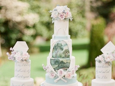 20 Most Beautiful Wedding Cakes For Your Romantic Artsy Wedding!