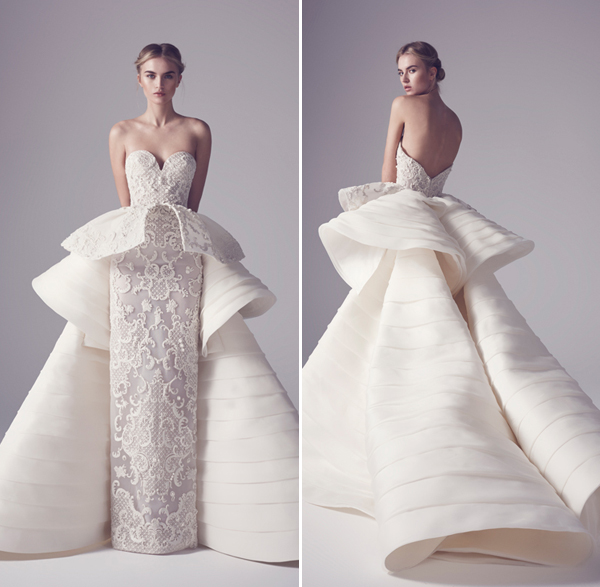 20 Statement Making Modern Minimalist Architectural Gowns