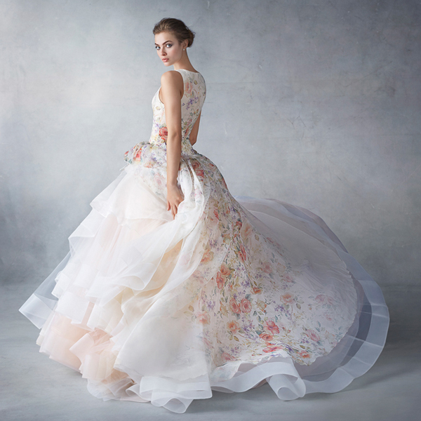 22 Gorgeous Floral Wedding Dresses Blooming with New Details ...