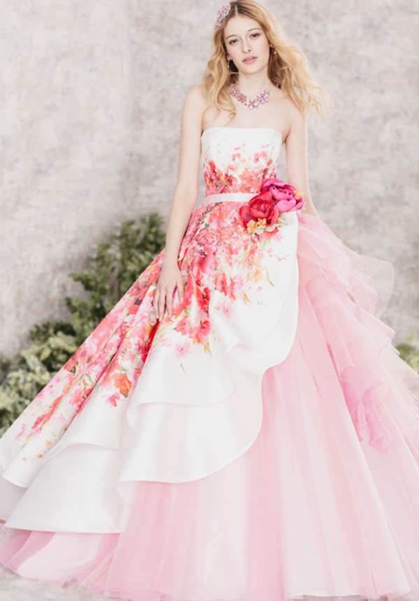 22 Gorgeous Floral Wedding Dresses Blooming With New