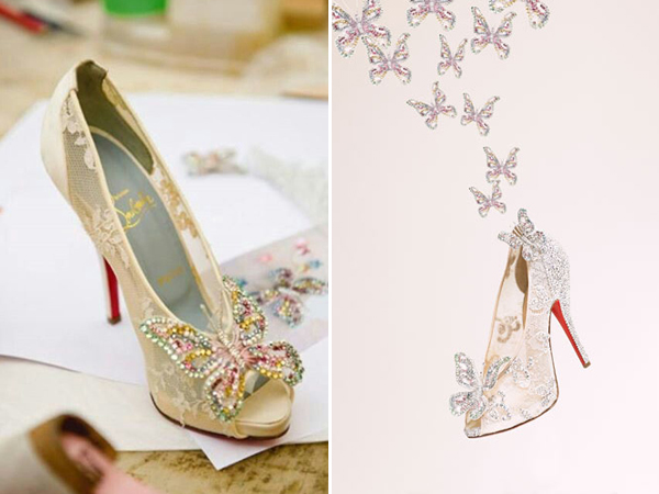 3af01d0de30 23 Stunning Wedding Shoes to Complete Your Fairy Tale Princess Look ...