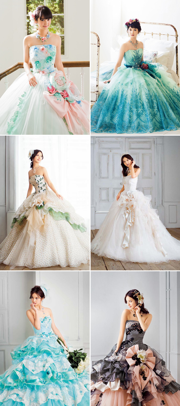 Beautiful Japanese Wedding Dresses