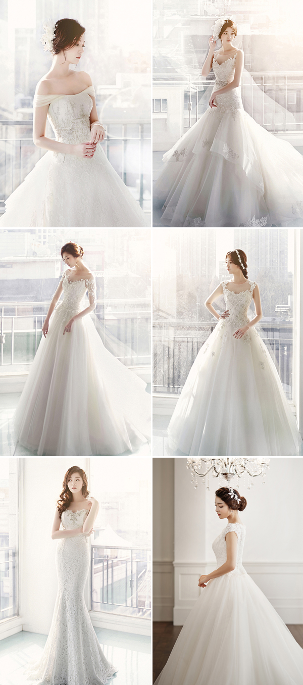 Dreamy Sophistication! Top 10 Korean Wedding Dress Brands We Love ...